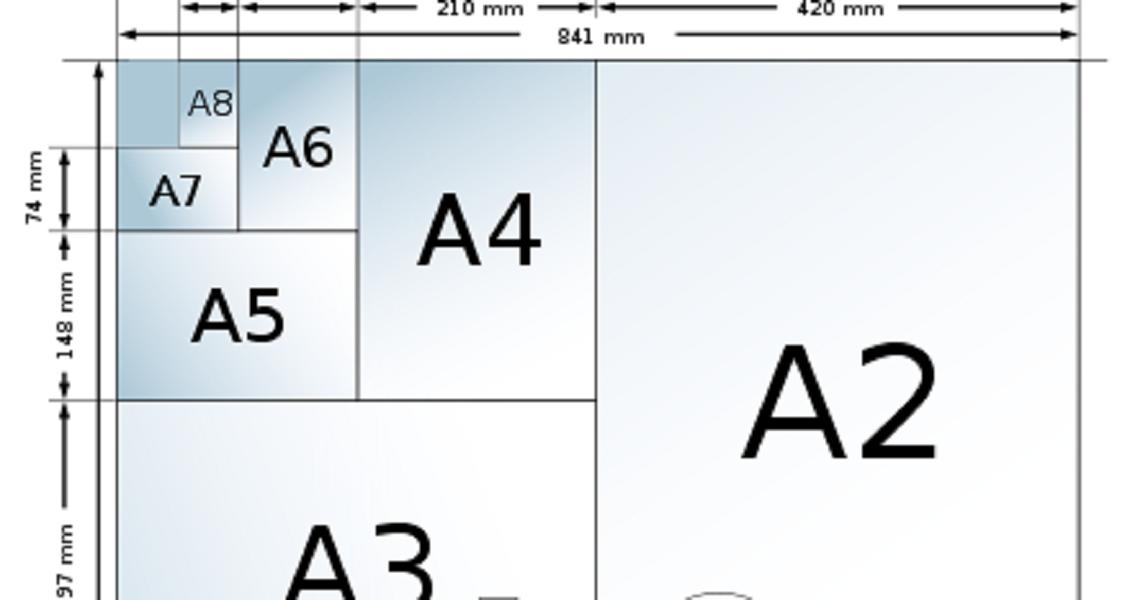 Ukuran Kertas Hvs Dan Jenisnya Yang Paling Sering Dipakai
